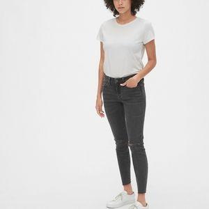 GAP distressed midrise legging stretch skinny jean